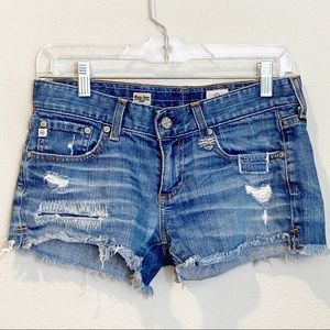 AG Mary Jane Cut Off Jean Shorts